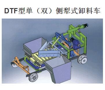 DTF型单(双)侧犁式卸料车