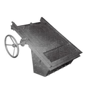 YCZ-56型电液动料流插板调节闸门